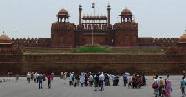 Visit of Red Fort