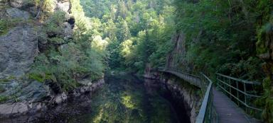 Hike along the Rieger Trail