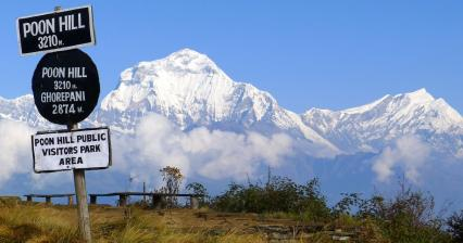 Lookout from Poon Hill