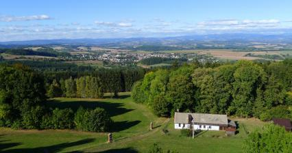 View from the lookout tower in Tábor