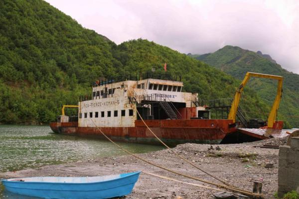 Old ferry