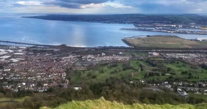 Points of interest in the surroundings of Belfast