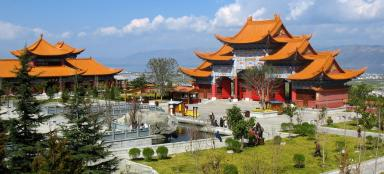 A tour of the Chongsheng Temple