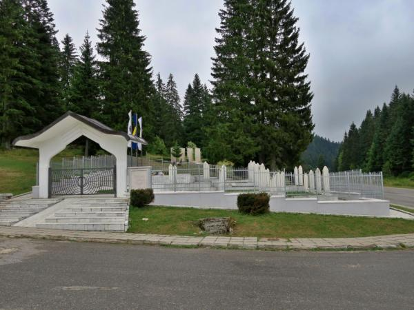 Cemeteries from the war
