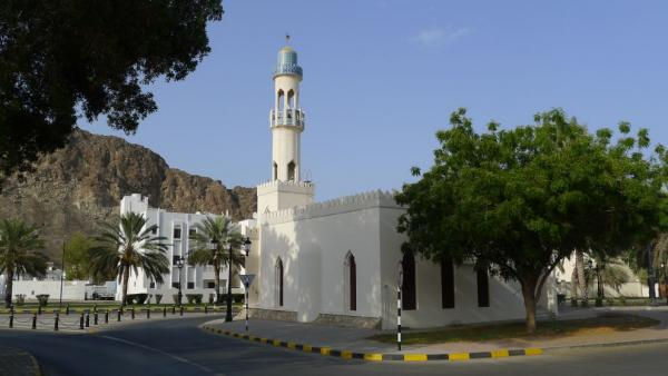 A small mosque in Old Muscat