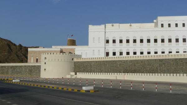On the way to Mirani fortress