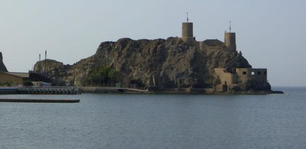 View of the next fortress