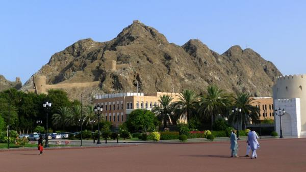 Mountains above Old Muscat