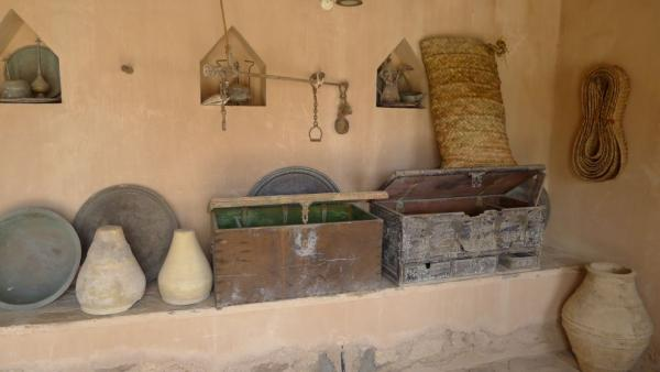 Period equipment of the castle