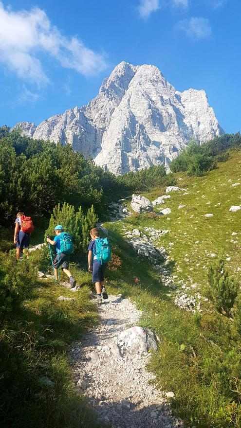 Spitzmauer - 2446 m, the second highest mountain in the Dead Mountains