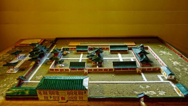 Model of the Winter Palace and the temple complex