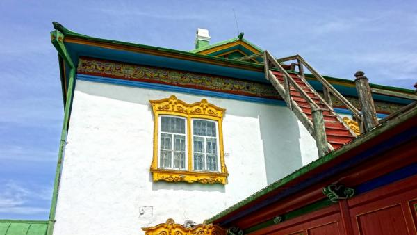 North corner of the Winter Palace building