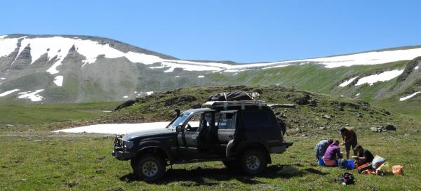 Wandering through the wilderness of the Russian Altai part two