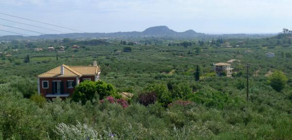 View of the fertile part of the island