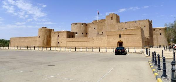 General view of Jabrin Castle
