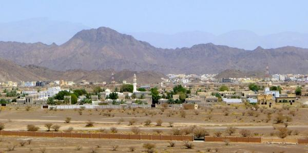 View of the Jebel Sham
