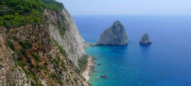 A trip along the southwest coast of Zakynthos