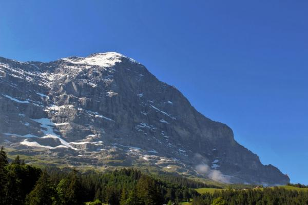 To Rotstock via the Eiger trail