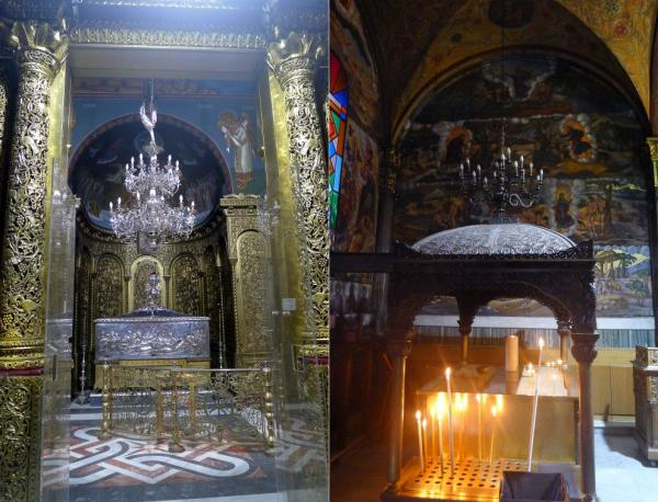 Richly decorated chapel