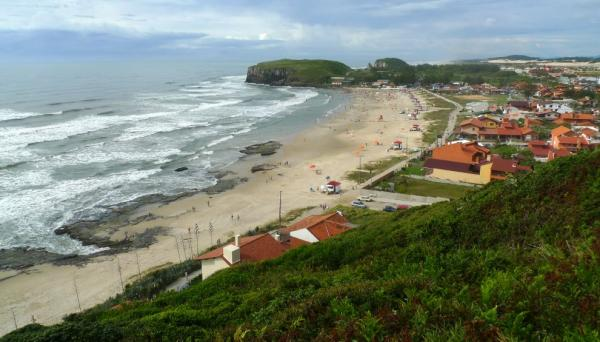 View from the hill Morro to Farol