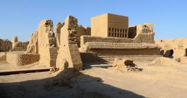 A tour of the ruins of the ancient city of Gaochang