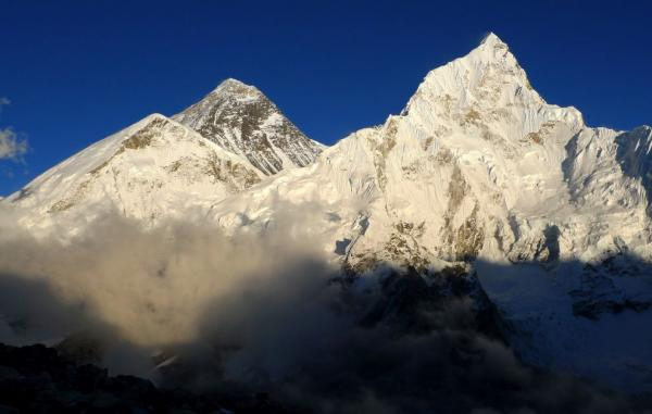 Everest from the Nepalese side