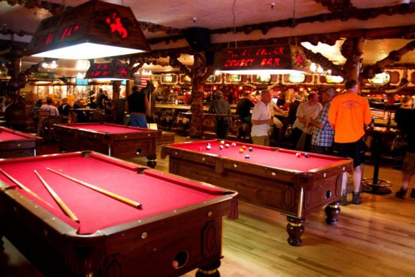 A bar without billiards would not be a bar