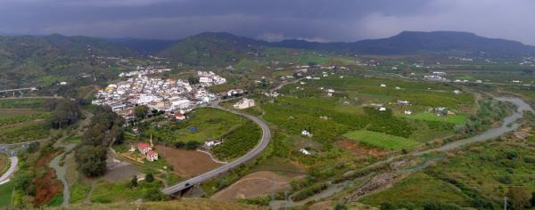 View of the Valle del Guadalhorce