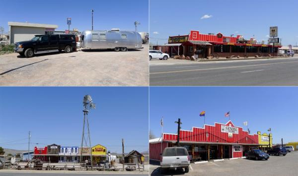 Driving on Route 66 - American Classic