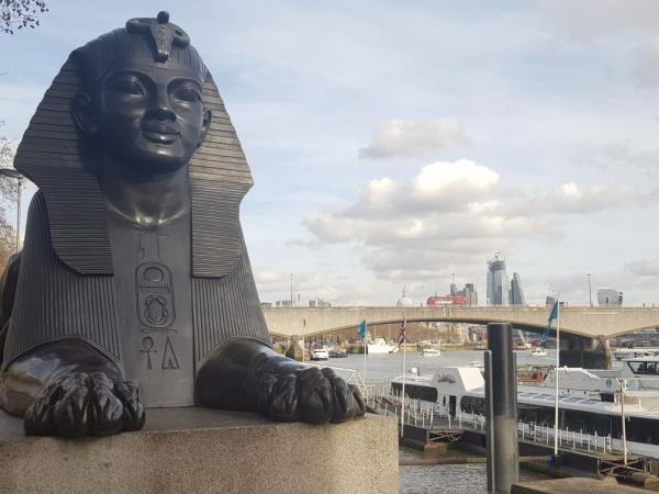 Sphinxes in central London