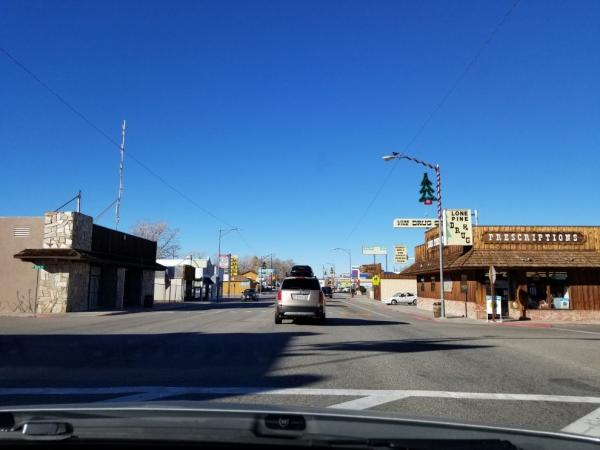 A typical American town