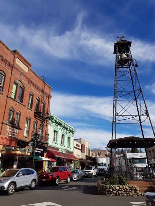 The historic town of Placerville