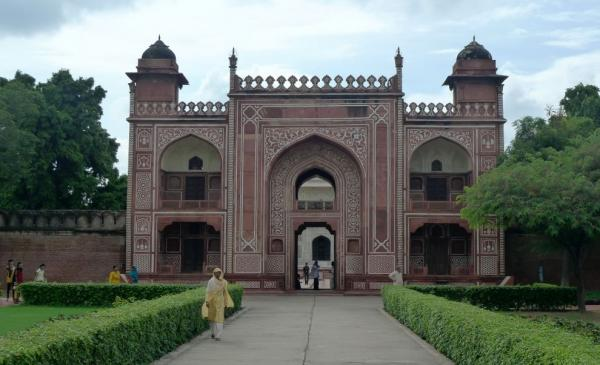 Entrance gate to the complex