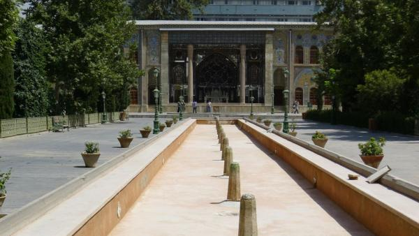 The grounds of the Golestan Palace