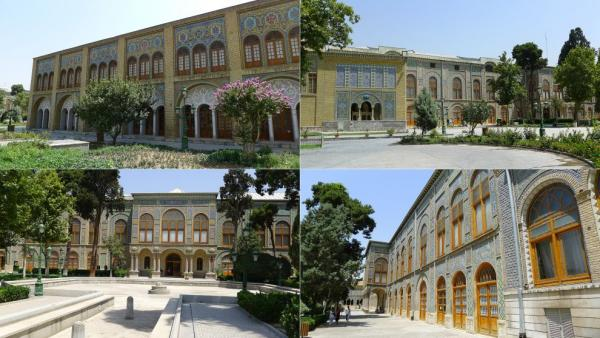 Golestan Palace from outside