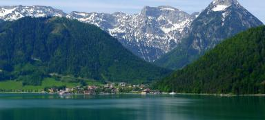 The most beautiful lakes of Austria