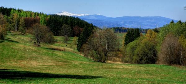 From the Giant Mountains through the Jestřebí Mountains