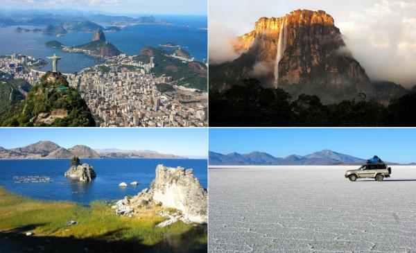 World's best of South America