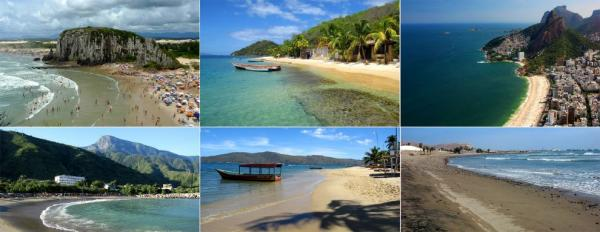 Swimming and beaches in South America
