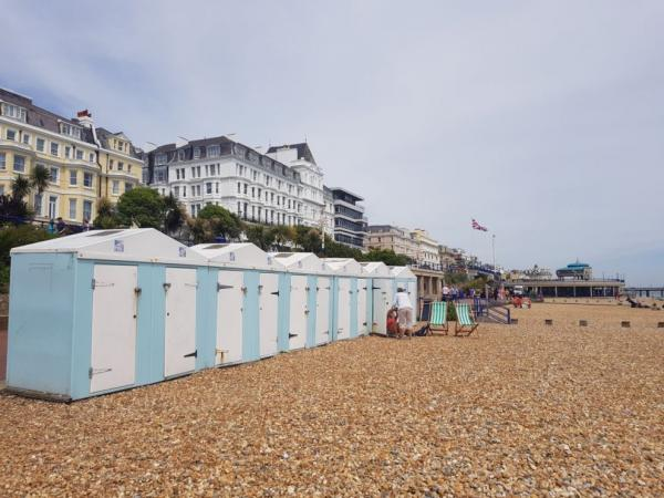 Peaceful atmosphere of Eastbourne