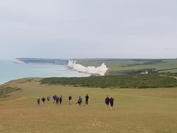 Coming to the Birling Gap