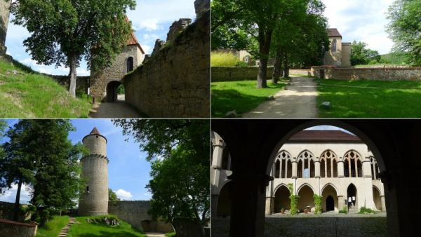 In the courtyard of the castle Zvíkov