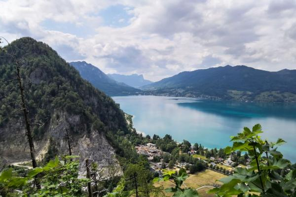 Views of the Attersee