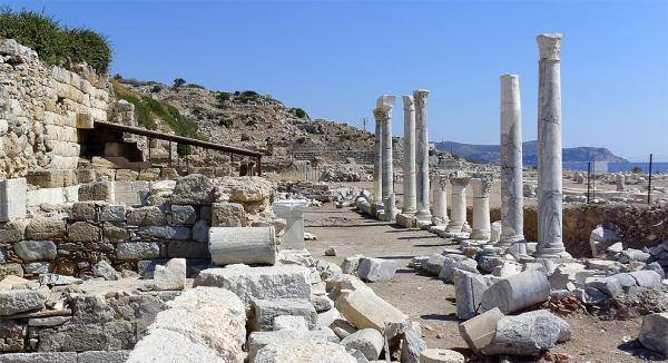 The remnants of Knidos