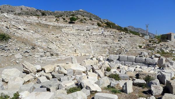 Ancient theatre in Knidos