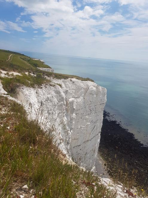 View from the height of the cliffs