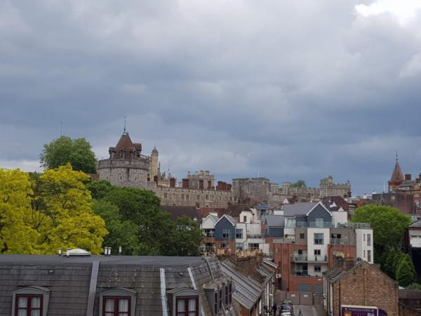 View over the rooftops of the city