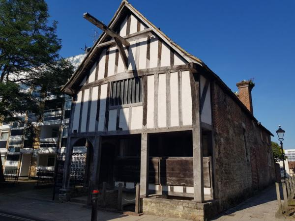 Medieval house of a merchant