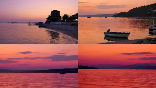 Sunsets in Ouranoupoli