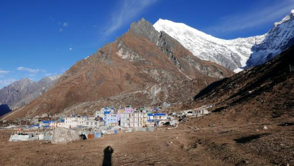 View of Kyanjin Gompa